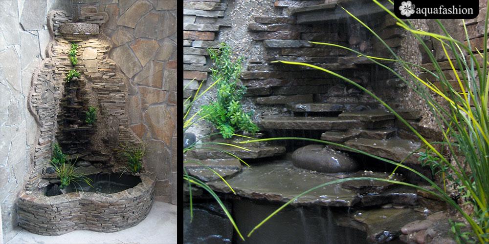 Водопад дома своими руками комнатный 29